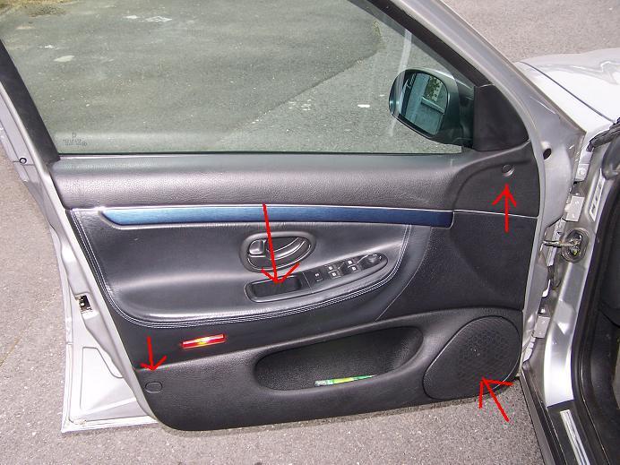 Depose garniture de porte avant divers peugeot 406 for Demonter un bati de porte